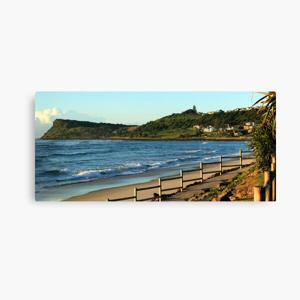Seven Mile Beach - Lennox Head NSW Canvas Print
