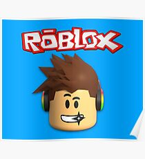 Roblox Character Head Poster