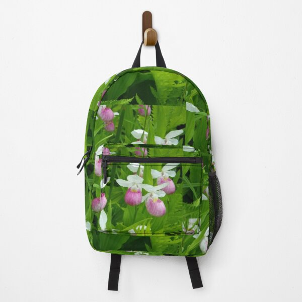 Showy Lady's Slipper Backpack