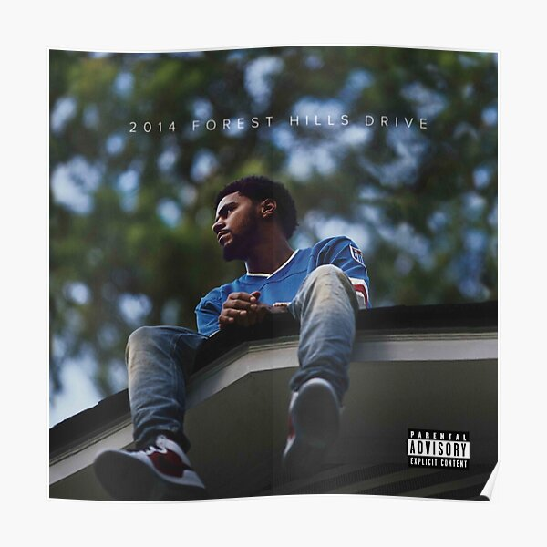 2014 Forest Hills Drive Album Poster