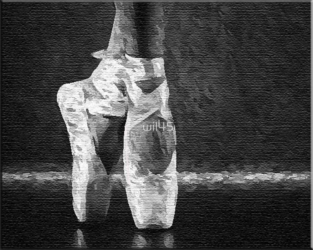 Ballerina Feet by wil45