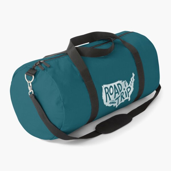 Road Trip USA - blue Duffle Bag