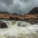 The River Etive by Brian Kerr
