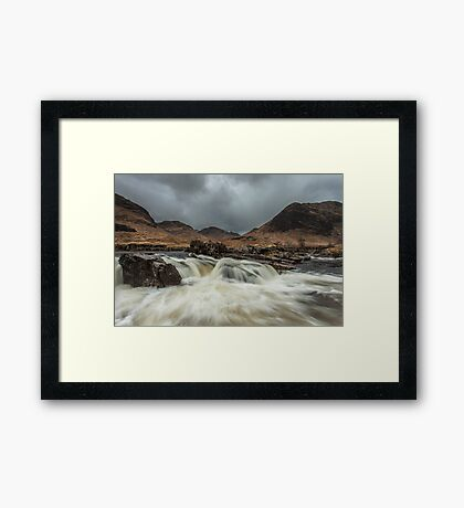 The River Etive Framed Print