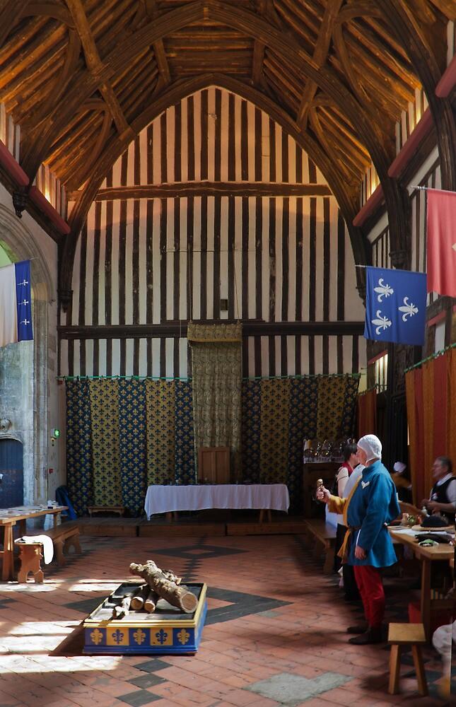 Gainsborough Old Hall- The Hall(2) by jasminewang