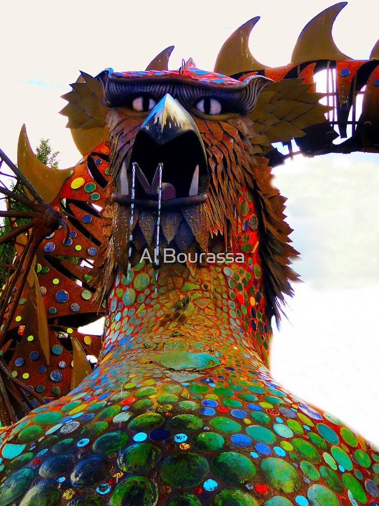 Hungry Dragon by Al Bourassa