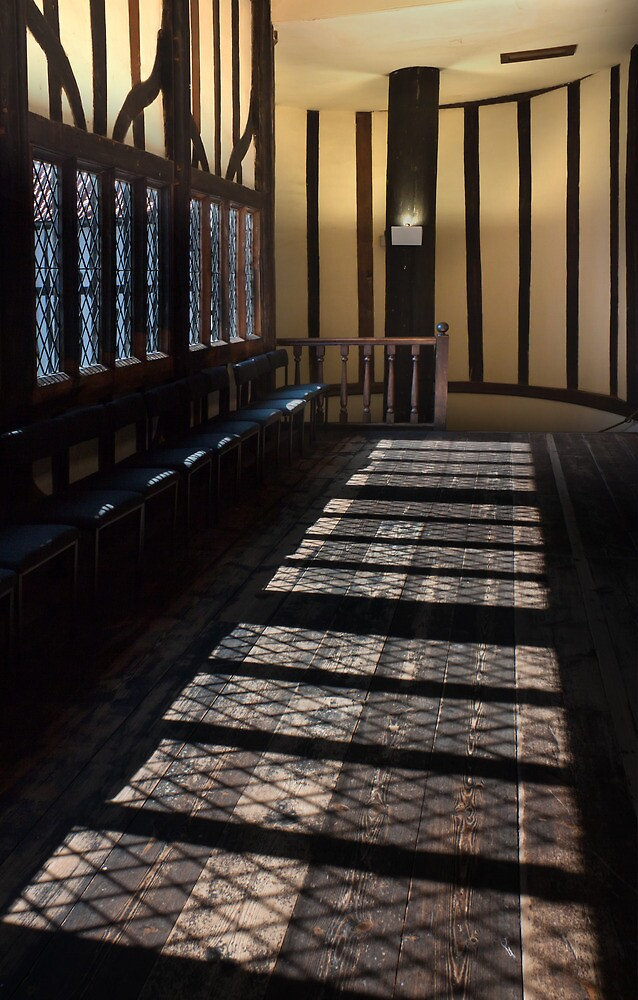 Gainsborough Old Hall- Windows, shadows&stairs by jasminewang