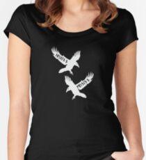 Huginn and Muninn Women's Fitted Scoop T-Shirt