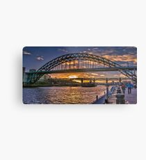 Newcastle Sunset Metal Print