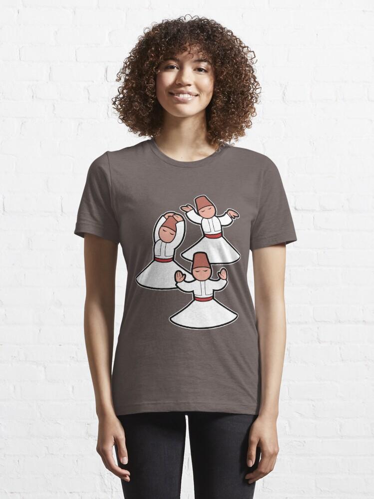 Alternate view of Dervish trio Essential T-Shirt