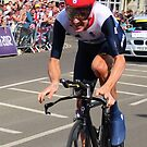Bradley Wiggins - Olympic Time Trial by MelTho