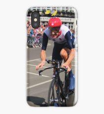 Bradley Wiggins - Olympic Time Trial iPhone Case/Skin