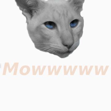 Siamese Mowwww by danfrance