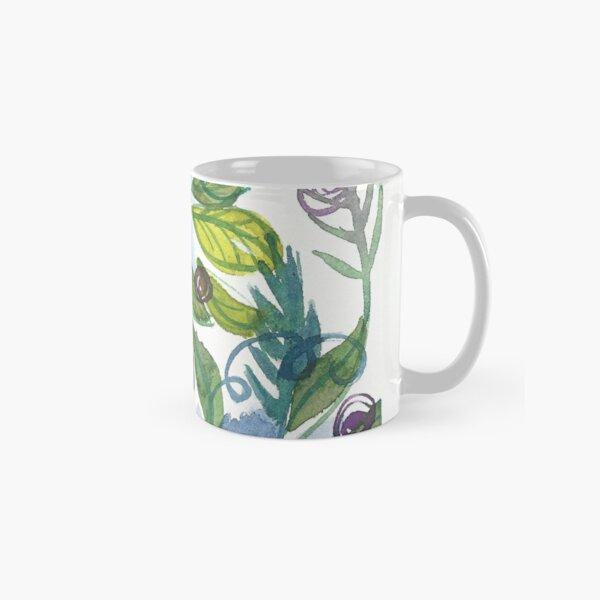 Blue Flowers Classic Mug