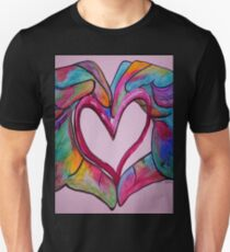 Universal Sign for Love - You Hold my Heart in Your Hand T-Shirt