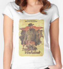 Django Unchained - Poster Women's Fitted Scoop T-Shirt