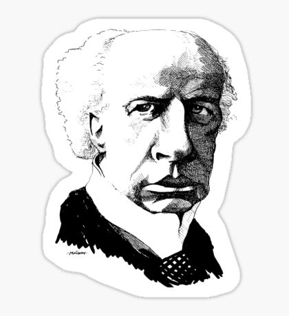 Wilfrid Laurier Sticker