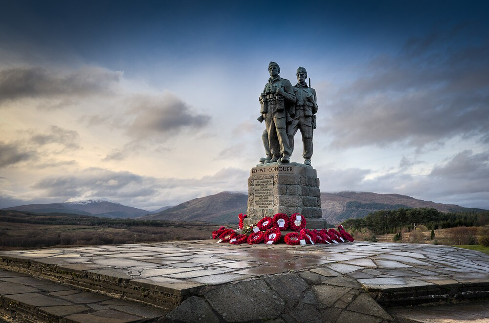Commando Memorial at Spean Bridge by Gary Eason