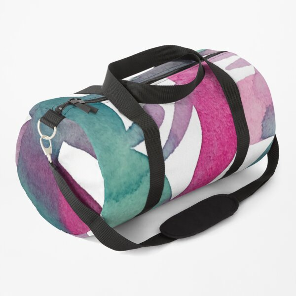 Marlene Makes Watercolour Summer Popsicle Duffle Bag