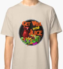 Get well with juice by Valxart Classic T-Shirt