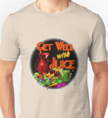 Get well with juice by Valxart T-Shirt