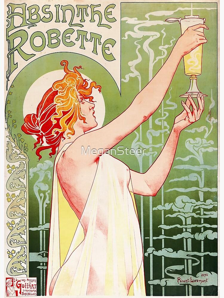 Absinthe Robette by Henri Privat-Livemont, 1896 by MeganSteer