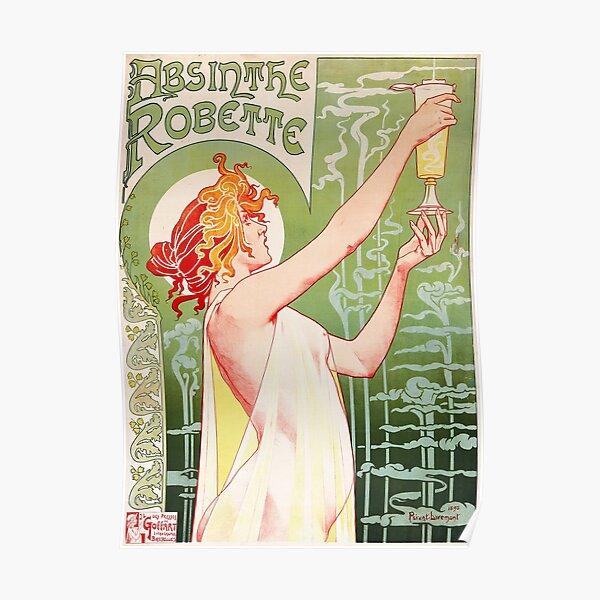 Absinthe Robette by Henri Privat-Livemont, 1896 Poster