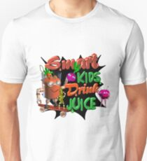 Smart Kids drink juice by Valxart  T-Shirt
