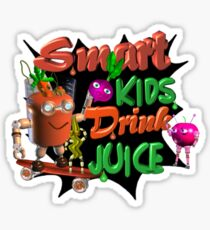 Smart Kids drink juice by Valxart  Sticker