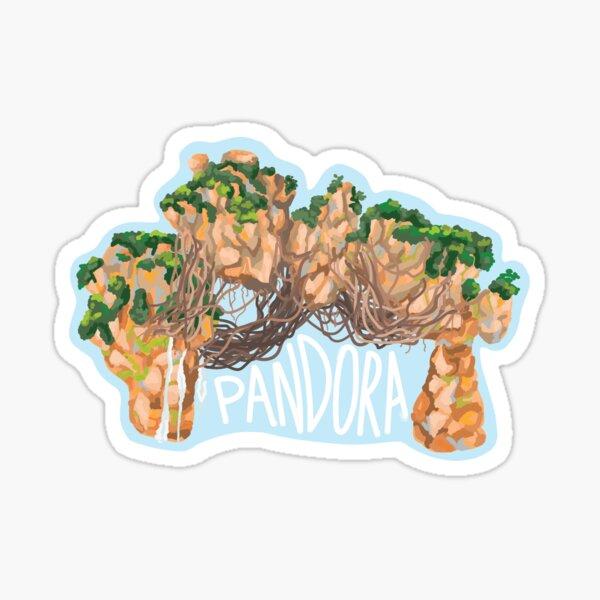 Pandora Rock Form, Avatar World of Pandora Sticker