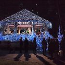 Le Touquet Christmas Lights - Santa's Palace by seymourpics