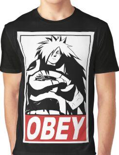 OBEY Madara Uchiha  Graphic T-Shirt