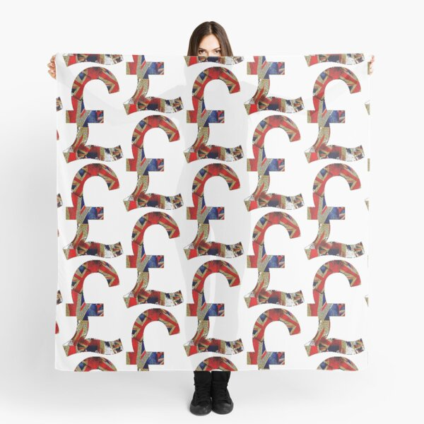 British Pound Scarf