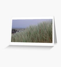 Camber Sands to Romney Marsh Greeting Card