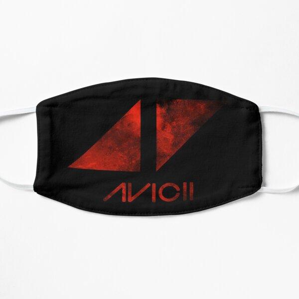 red avicii Flat Mask