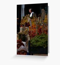 Rialto Fruit + Veg Market 1 Greeting Card
