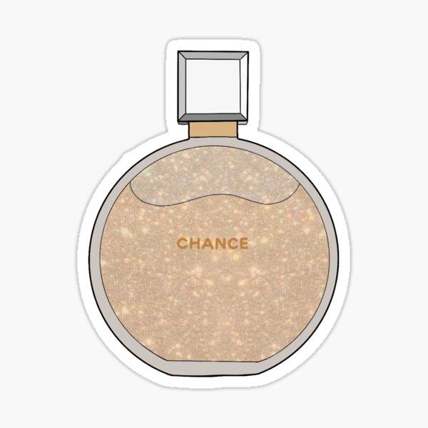 flacon de paillettes de parfum 1 Sticker