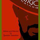 Django Unchained custom movie poster by deeceethered