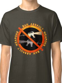 Ban Assault Weapons by Valxart Classic T-Shirt