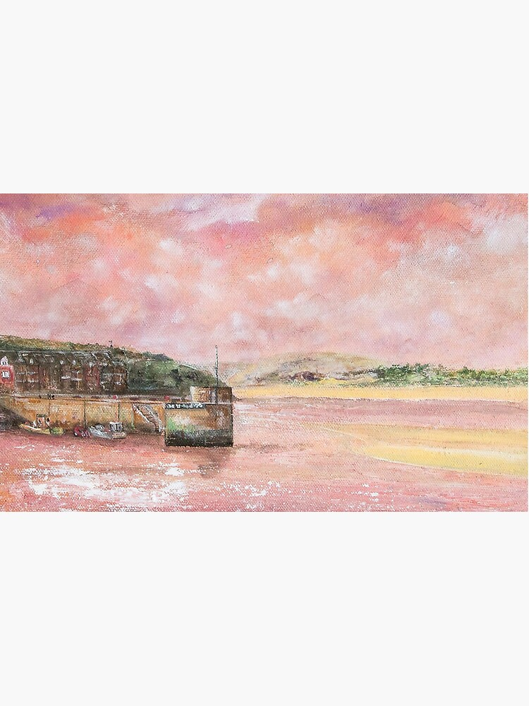 Padstow Harbour, North Cornwall Art by handonart-com