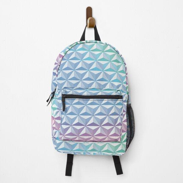Geodesic Sphere, Blue Backpack