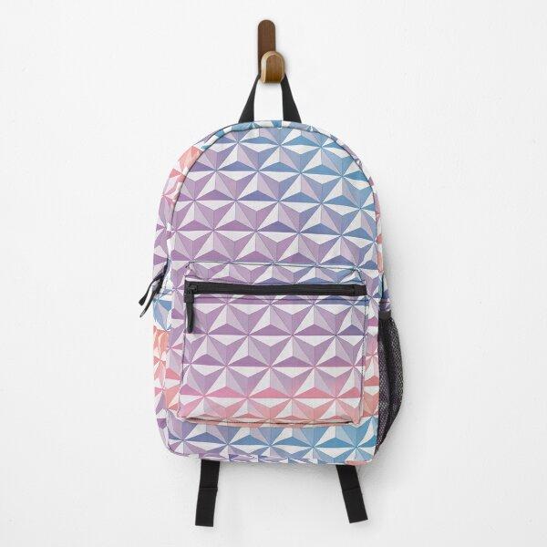 Geodesic Sphere, Purple Backpack