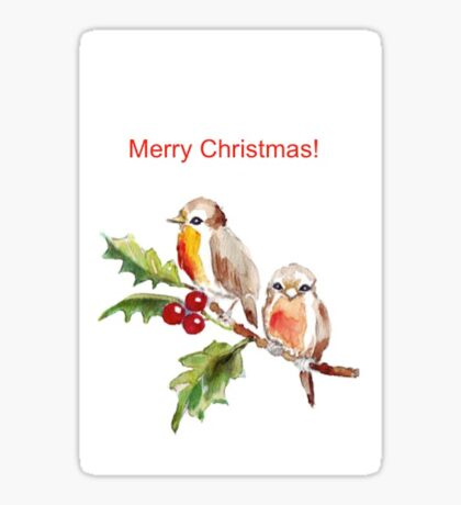 Merry Christmas to you! Sticker