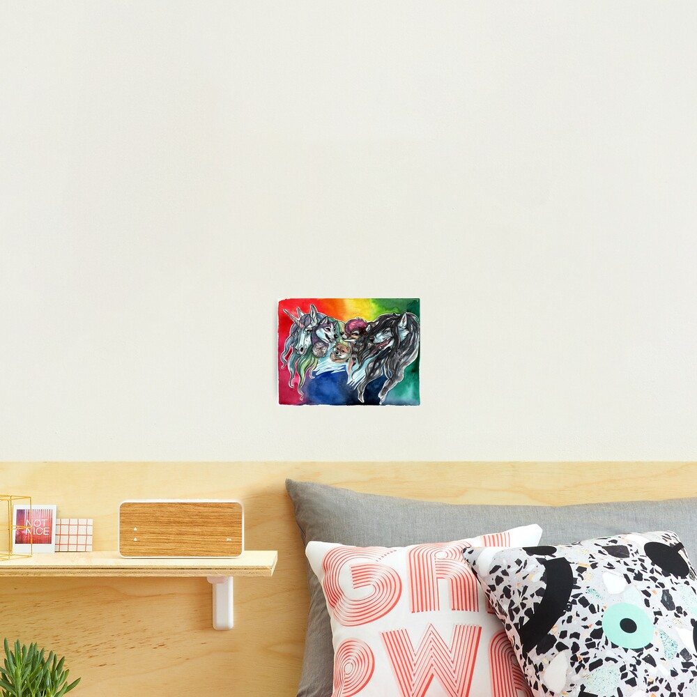 A Colorful Cast Photographic Print