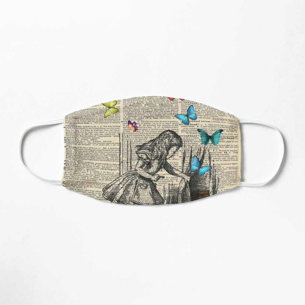 Alice In Wonderland - Let The Adventure Begin Mask