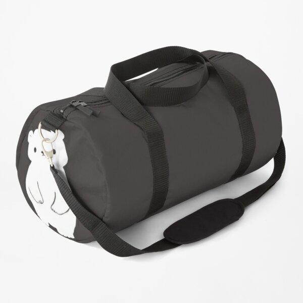 Little Cute White Bear Duffle Bag