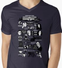 Quotes From the Hellmouth Men's V-Neck T-Shirt