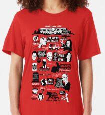 Camiseta ajustada Citas de Hellmouth