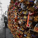 Old Port Love Locks by angbet31