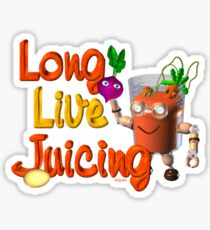 Long live Juicing by Valxart  Sticker